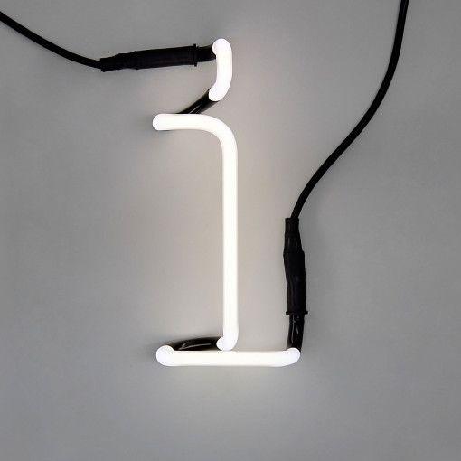 Seletti Neon Art Letter Lamp I Style Temple