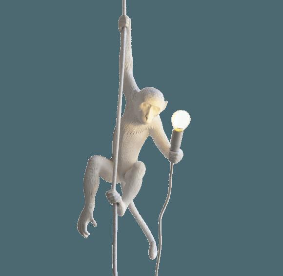 Seletti monkey lamp hanging style temple for Lampada scimmia seletti